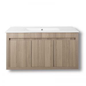 Έπιπλο μπάνιου πάγκος Alpin Cordoba με ντουλάπια