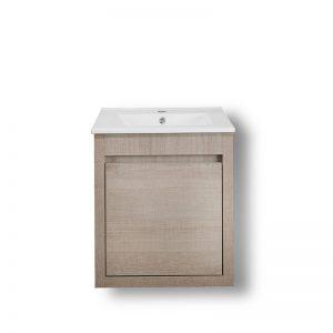 Έπιπλο μπάνιου πάγκος Alpin με ντουλάπια