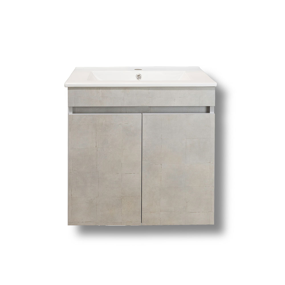 Έπιπλο μπάνιου πάγκος Omega με ντουλάπια